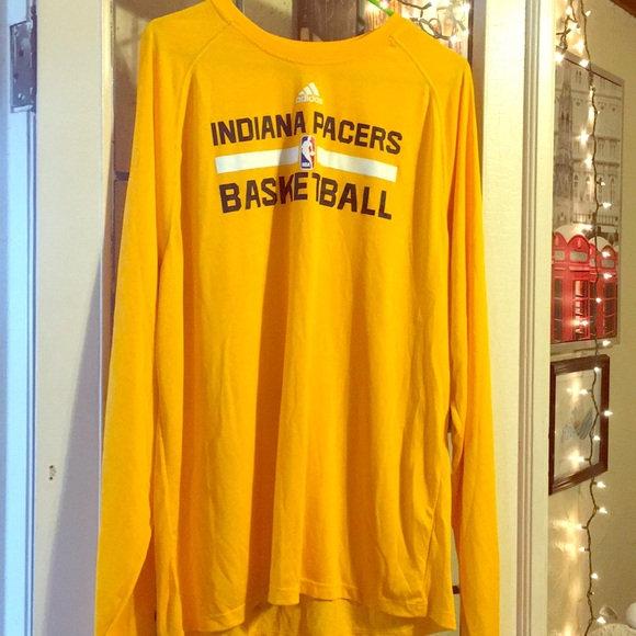 pretty nice e9290 d2ace Adidas Indiana Pacers Long Sleeve